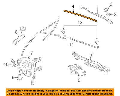 Chevrolet GM OEM 13-15 Spark Wiper Arm-Front Blade 95108156