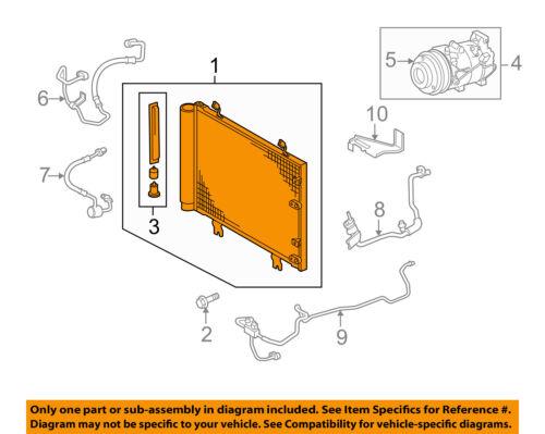 Details about Lexus TOYOTA OEM 06-15 IS350 Air Conditioner A/C AC-Condenser  8846053030