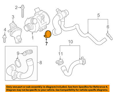 BMW OEM 07-18 X5 3.0L-L6 Fuel System-Filler Hose Clamp 07129952119