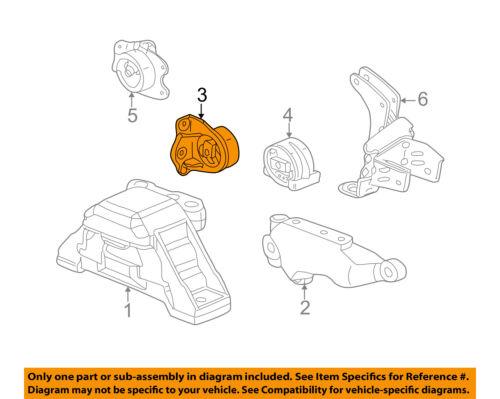 Details About Saturn GM OEM 02 06 Vue Transmission Trans Mount 22716726