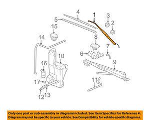 GM OEM Wiper Washer-Windshield-Wiper Arm Right 15829647