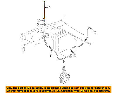 GM OEM-Antenna Mast 15264469 - Saturn Sc1 Antenna