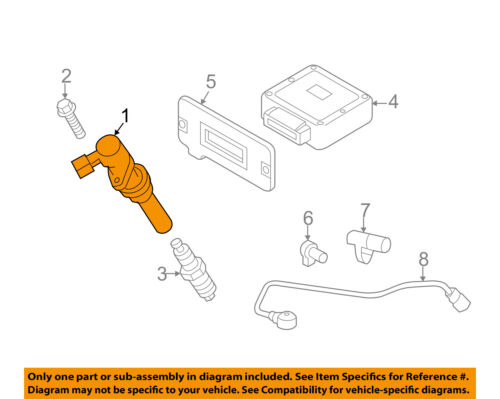 Genuine Mazda AJ09-18-100 Ignition Coil Ignition Parts Coils uphl ...