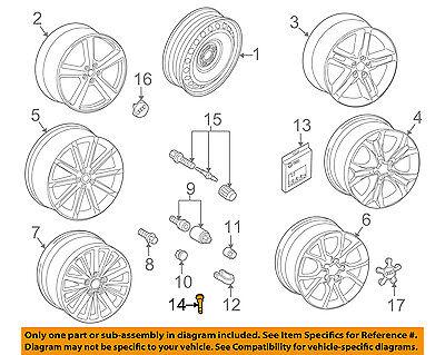 AUDI OEM 95 16 A6 Quattro Tire Wheel Valve Stem 281601361