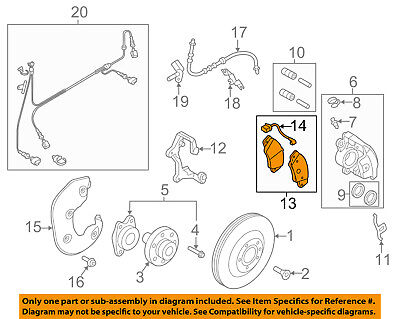 AUDI OEM 08-13 A5 Quattro Brake-Front Pads 8K0698151H