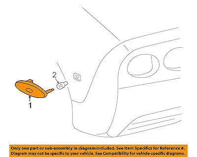 Chevrolet GM OEM 97-04 Corvette-Side Marker Lamp 16524722