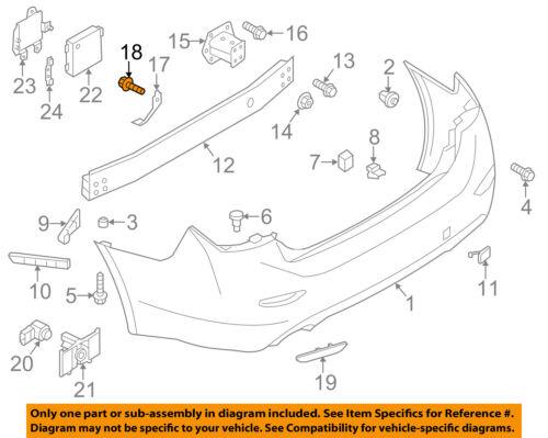 NISSAN OEM Splash Shield-Lower Cover Bolt 081466165H
