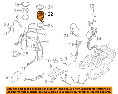 AUDI OEM 07-10 Q7-Fuel Filter 7L8919679 | eBay | Audi Q7 Fuel Filter Location |  | eBay
