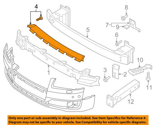 AUDI OEM 15-17 A8 Quattro-Bumper Cover 4H0807217B