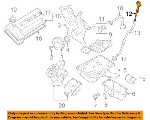 suzuki oem 06 08 grand vitara 2 7l v6 motor aceite fluido varilla rh ebay com 2008 suzuki grand vitara engine diagram suzuki grand vitara 2003 engine diagram