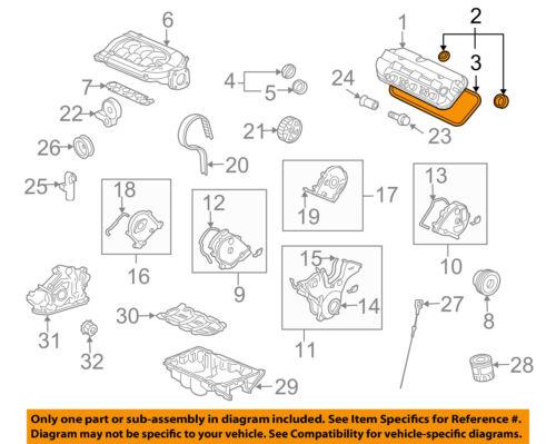 [DIAGRAM_09CH]  HONDA OEM Engine Parts-Valve Cover Gasket Set Right 12050R70A00 | eBay | Honda 2 7 Engine Diagram |  | eBay