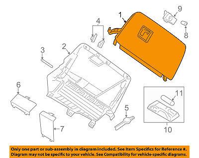 BMW OEM 11-17 X3-Dash Glove Compartment Box Door 51166839000