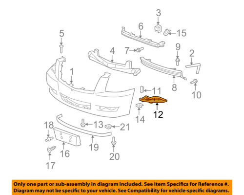 Bumper Filler For 2002 Cadillac Escalade Set of 2 Front Left /& Right Side