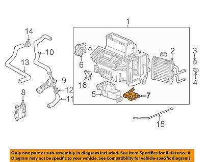 Acura HONDA OEM 99-03 TL 3.2L-V6 Heater-Motor 79160S0KA01