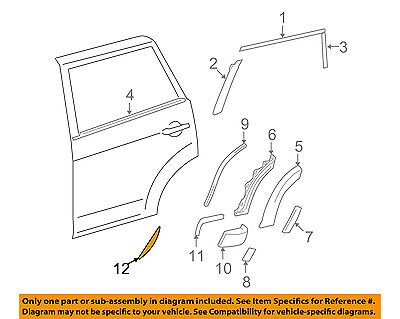 TOYOTA OEM 06-12 RAV4-Striping Kit-Stripe Right 759960R010