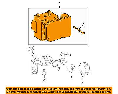 TOYOTA OEM 10-11 Tundra ABS Anti-Lock Brake System-Control Module 440500C410