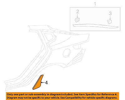 KIA OEM 16-18 Optima Exterior-Stone Deflector Guard 84221D4000