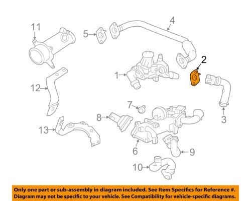 GM OEM Emission-Egr Pipe Gasket 98065523