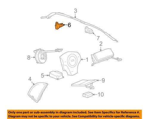 ✅03-04 Chevy Express GMC Savana Front SRS Impact Air Bag Sensor 15750627 OEM