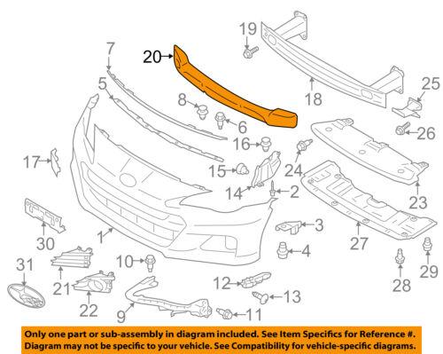 SUBARU OEM 13-16 BRZ Front Bumper-Corner Support Right 57707CA002