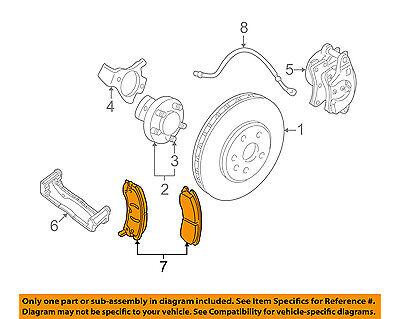 Chevrolet GM OEM 10-13 Corvette Brake-Front Pads 19152862