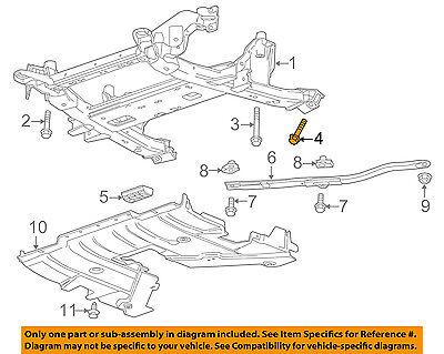 GM OEM Rear Suspension-Shock Bolt 11611263