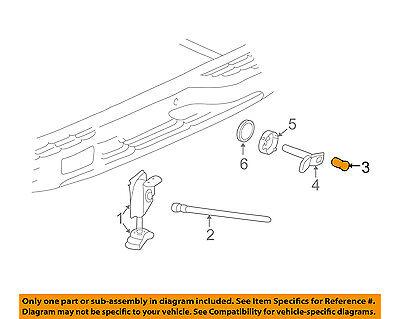 GM OEM Spare Tire Carrier-Lock Cylinder 15785099