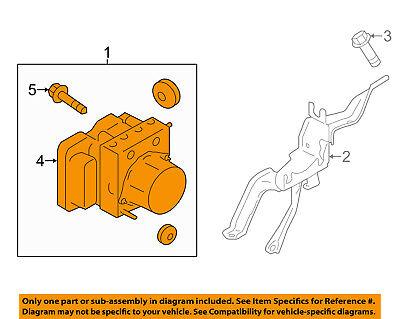 Scion TOYOTA OEM 2015 FR-S ABS Anti-lock Brakes-Modulator Valve SU00305765