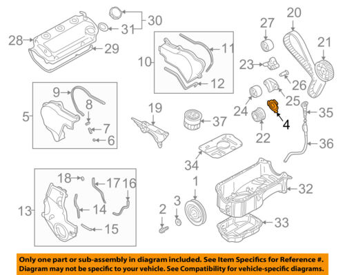 MITSUBISHI OEM 97-04 Montero Sport Crankshaft Crank-Sensor Ring MD184901