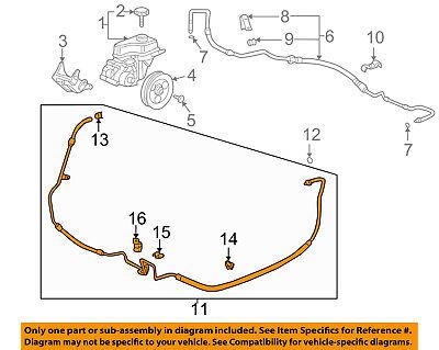 GM OEM-Power Steering Return Hose 15839169