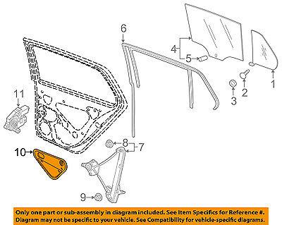 VW VOLKSWAGEN OEM 15-18 GTI Glass-Rear Door-Access Cover Right 5G4839916E