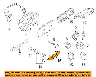 NISSAN OEM 12-15 GT-R ABS Anti-lock Brakes-Switch 25145KB51B