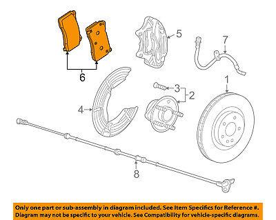 Chevrolet GM OEM 2014 SS Brake-Front Pads 92291022