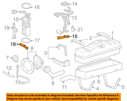 GM 19122083 FUEL PUMP STRAINER  for 2002-04 SUBURBAN /& YUKON ACDelco #TS1018