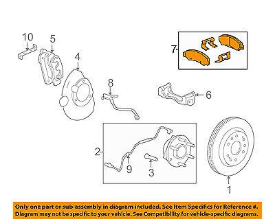 GM OEM Brake-Front Pads 22742382