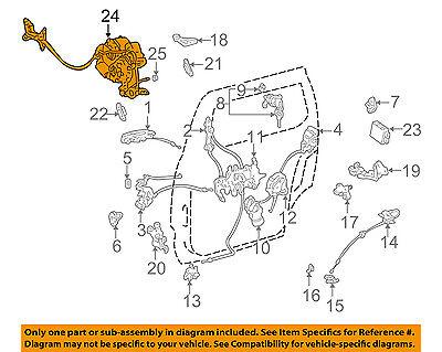 TOYOTA OEM 98-03 Sienna Side Sliding Door-Motor 8562008011