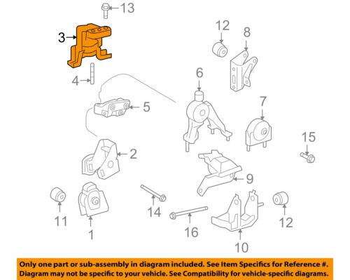 [SCHEMATICS_48DE]  Pontiac GM OEM 09-10 Vibe-Engine Motor Mount/Torque Strut 88975617   eBay   Vibe Engine Diagram      eBay