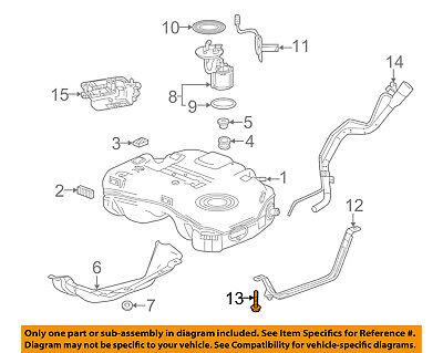 - GM OEM Fuel Gas Tank-Support Strap Bolt 11516931