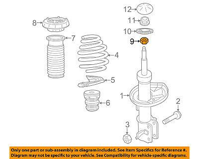 GM OEM Front Suspension-Top Nut 11569637