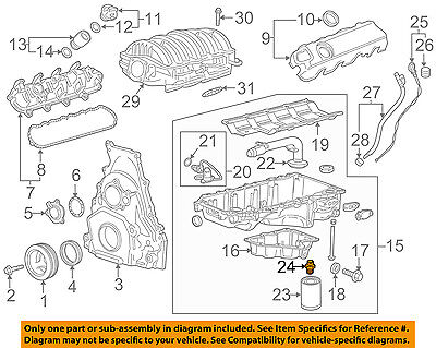 GM OEM Engine Parts-Adapter Connector 12600225
