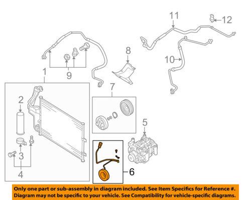 MAZDA OEM 04-05 3 Compressor-Clutch Coil BP4S61L30