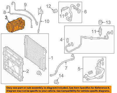 Mercedes MERCEDES-BENZ OEM 13-15 E400-A/C AC Compressor 0042301911