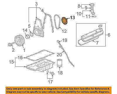 GM OEM-Engine Timing Camshaft Cam Gear 12586481