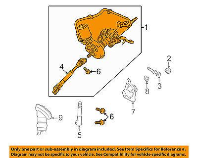 TOYOTA OEM 12-15 Prius Plug-In-Steering Column 4520047140