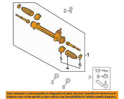TOYOTA OEM 12-15 Prius Plug-In-Rack And Pinion Complete Unit 4551047040