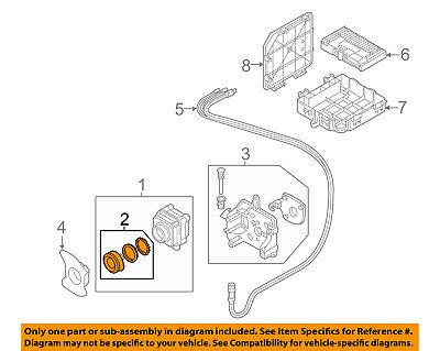 AUDI OEM 11-17 A8 Quattro Electrical-Camera Repair Kit 4H0998552