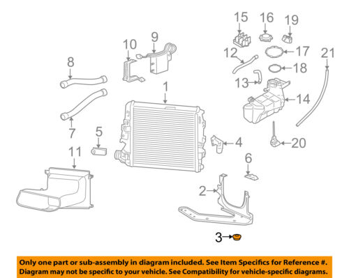 PORSCHE OEM 05-12 911 3.6L-H6 Radiator-Outer Support 99710623201