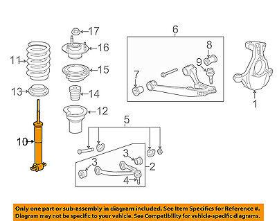 GM OEM Front Suspension-Strut 20955498