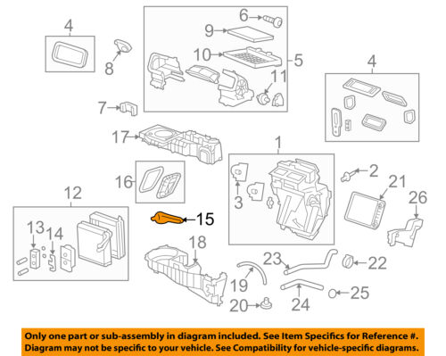 Genuine GM Temp Sensor 25786418