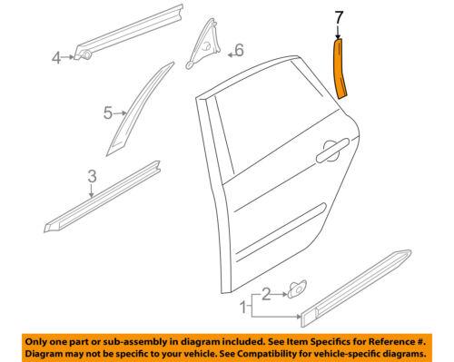 Infiniti NISSAN OEM 06-10 M35 Front Door-Hinge Check Right 80430EG00B
